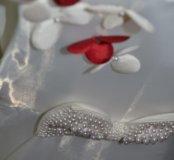 Девичье красивое белое платье