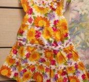 Новое платье 2 года Gymboree, 100% хлопок