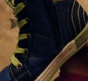 Продам ботинки кожа,размер 29-30