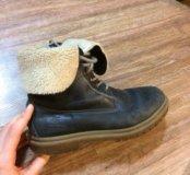 зимние ботинки на большую ногу