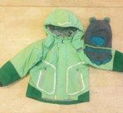 Куртка зимняя Lassie, р.110 и шлем