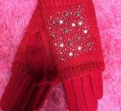 Продам теплые перчатки