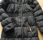 Пальто осеннее на девочку 10-11 лет.