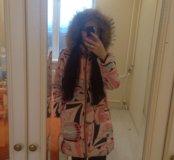Зимний женский пуховик