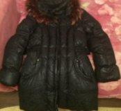 Пуховик зимний детский