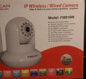 IP, Wi-Fi поворотная камера видеонаблюдения
