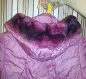 Куртка для девочки зимняя. В отличном состоянии.