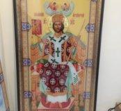 Икона Иисус на Троне