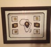 Панно на стену. Африка. Интерьер. Декор