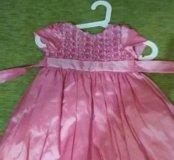 Платье детское на  2 годика нарядное