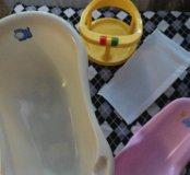 Набор из 4х предметов для купания.