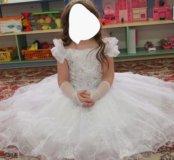 Пышное платье принцессы