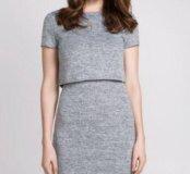 Платье серое абсолютно новое с биркой!
