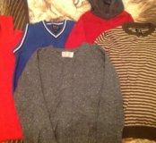 Тёплые кофты для мальчика 8-10 лет