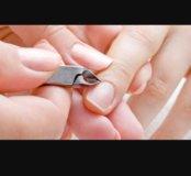Классический маникюр,покрытие шеллак