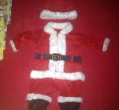 Новогодний костюм и песочник Carter's
