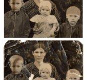 Реставрация ретушь печать коррекция фотографий