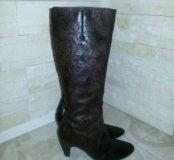 Модные зимние сапожки р37