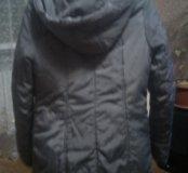 Куртка зимняя с мехом и поесом