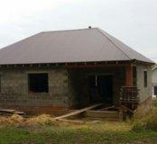 Недостроенный дом и зем.участок