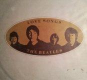 Грампластинка. The Beatles. Love Songs