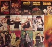 Манга, книги, комиксы