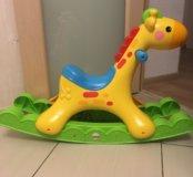 Fisher Price Жираф качалка