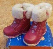 Детские зимние новые сапожки