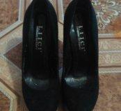 Продам замшевые р туфли в хорошем состоянии
