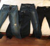 4 пары джинсов
