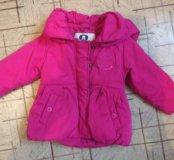 Куртка утеплённая размер 80