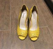 Туфельки жёлтого цвета 💛