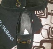 Мокасины Dolce&Gabbana муж. (39-40)
