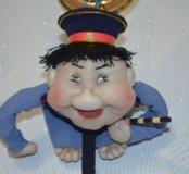 Кукла попик талисман на удачу (можно в машину)