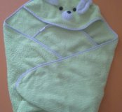 Махровое полотенце для малюток