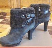 Новые Зимние ботинки сапожки
