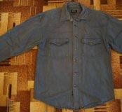 Джинсовая мужская рубашка Hugo boss