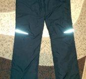 Теплые брюки р.40