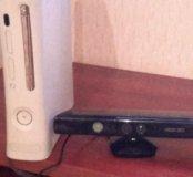 Приставка игровая Xbox 360 , KINECT.