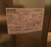 НОВЫЙ вместительный холодильник SHARP