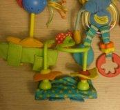 Игрушки на коляску Островитяне tiny love