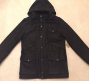 Chevignon куртка пальто из кожи нубук оригинал