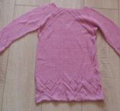Женская кофта ручной вязки