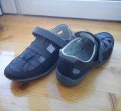 Туфли школьные открытые