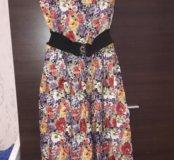 Платье в пол 52-54 размер