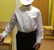 Рубашка и брюки на мальчика 5-6 л