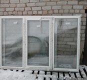 Окно пластиковое 1400*2100