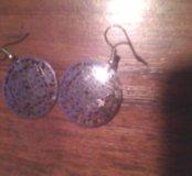 Сережки и кольцо.