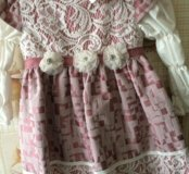 Платье на девочку 2х лет