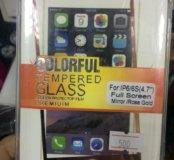 Бронь и стекло на iPhone 6